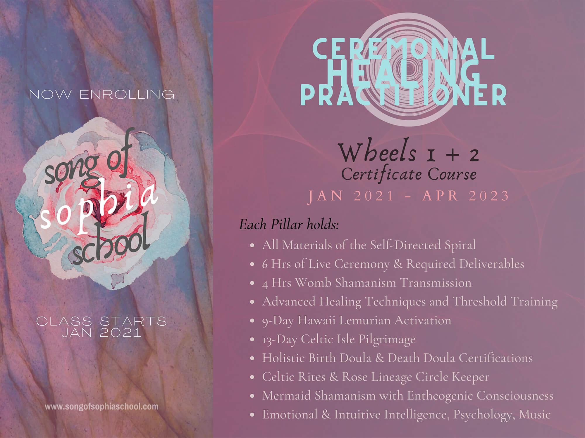 Ceremonial Healing practitioner
