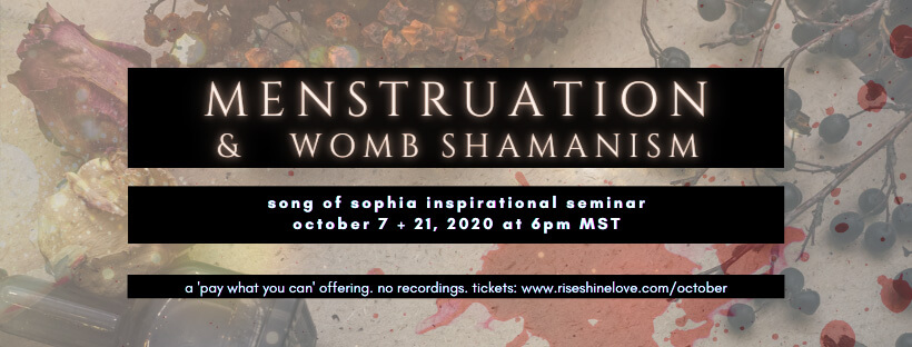 Menstruation and womb shamanism