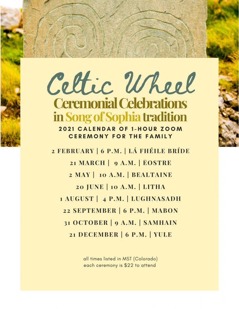 Celtic Wheel Celebration